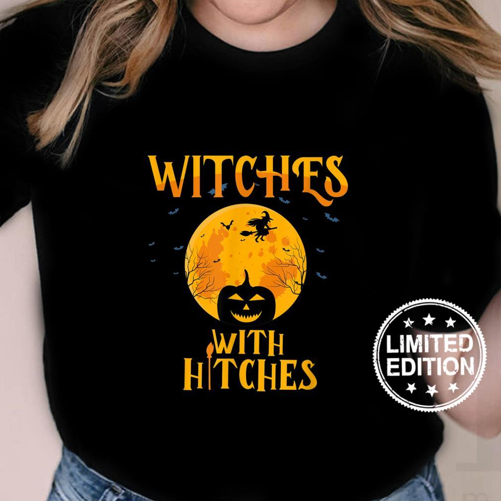 Witches With Hitches Camping Shirt ladies tee