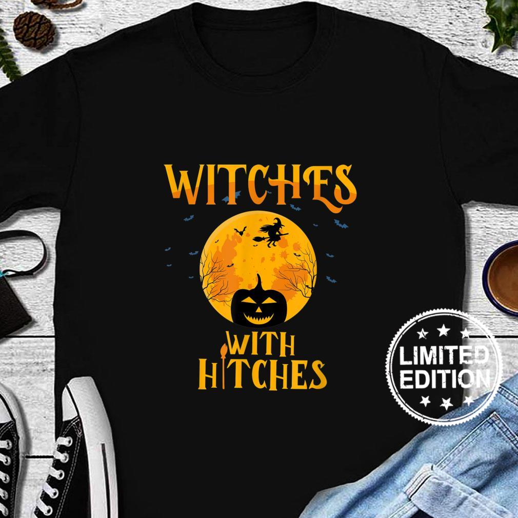 Witches With Hitches Camping Shirt long sleeved