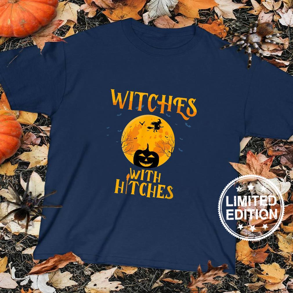 Witches With Hitches Camping Shirt sweater